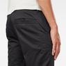G-Star RAW® Bronson Slim Chino Black model back zoom