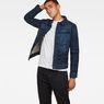 G-Star RAW® Motac Sec Slim Jacket Dark blue model front
