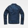 G-Star RAW® Motac Sec Slim Jacket Dark blue flat back