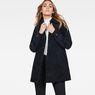 G-Star RAW® Deline Cord Mac Jacket Dark blue model front