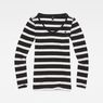 G-Star RAW® Base Round Neck T-Shirt Black model front