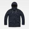 G-Star RAW® Vodan Caban Hooded Padded Jacket Dark blue flat front