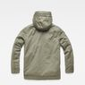 G-Star RAW® Vodan Caban Hooded Padded Jacket Green flat back
