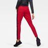 G-Star RAW® Stripe Slim Track Sweat Pant Red model back