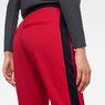 G-Star RAW® Stripe Slim Track Sweat Pant Red model back zoom