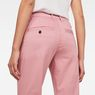 G-Star RAW® Bronson Mid Waist Skinny Chino Pink model back zoom