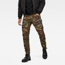 G-Star RAW® Rovic RC 3D Straight Tapered Pants Green model front