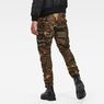 G-Star RAW® Rovic RC 3D Straight Tapered Pants Green model back