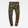 G-Star RAW® Rovic RC 3D Straight Tapered Pants Green flat front
