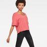 G-Star RAW® Rie V-Neck T-Shirt Red model side