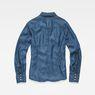 G-Star RAW® Tacoma Clean Slim Frill Shirt Medium blue