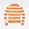 G-Star RAW® Doolin Stripe Knit Orange flat back