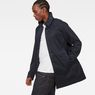 G-Star RAW® Garber Trench Dark blue model side