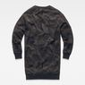 G-Star RAW® Lajla Ann Camo Sweat Dress Black