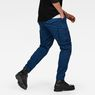G-Star RAW® Rovic Zip 3D Straight Tapered Trousers Dark blue model back