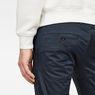 G-Star RAW® Bronson Slim Chino Medium blue model back zoom