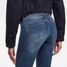G-Star RAW® Midge Saddle Mid Waist Straight Jeans Medium blue
