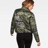 G-Star RAW® Whistler Padded Reversible Jacket Grey model back