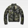 G-Star RAW® Whistler Padded Reversible Jacket Grey flat front
