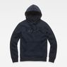 G-Star RAW® Loaq Hooded Core Sweat Dark blue flat front