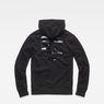 G-Star RAW® Graphic 34 Core Hooded Sweat Black flat back