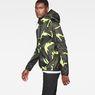 G-Star RAW® Strett Hooded Jacket Grey model side