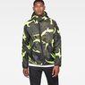 G-Star RAW® Strett Hooded Jacket Grey model front