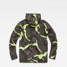 G-Star RAW® Strett Hooded Jacket Grey flat back