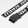 G-Star RAW® Barran Webbing Belt Black front flat