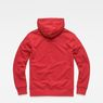 G-Star RAW® Graphic 33 Core Hooded Sweat Red flat back