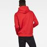 G-Star RAW® Graphic 33 Core Hooded Sweat Red model back