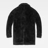 G-Star RAW® Deline Teddy Mac Jacket Black flat back