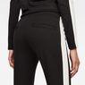G-Star RAW® D-Staq Stripe Sweatpants Black model back zoom