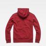 G-Star RAW® Loaq Core Hooded Sweat Red flat back