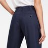 G-Star RAW® Bronson Pleat 3D Relaxed Chino Dark blue model back zoom