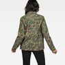 G-Star RAW® Rovic Field Overshirt Green model back