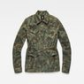 G-Star RAW® Rovic Field Overshirt Green flat front