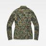 G-Star RAW® Rovic Field Overshirt Green flat back