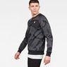 G-Star RAW® Rodis Camo Raglan Sweat Black model side