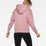 G-Star RAW® Rie Hooded Sweat Pink model back