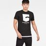 G-Star RAW® Graphic 47 T-Shirt Black model front