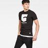 G-Star RAW® Graphic 47 T-Shirt Black model side