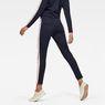G-Star RAW® D-Staq Stripe Sweatpants Dark blue model back