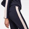 G-Star RAW® D-Staq Stripe Sweatpants Dark blue model back zoom