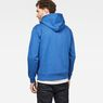 G-Star RAW® Doax Hooded Zip Thru Sweat Medium blue model back