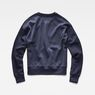 G-Star RAW® Graphic 24 Loose Sweater Dark blue flat back