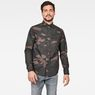 G-Star RAW® Lecite Straight Shirt Brown model front
