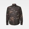 G-Star RAW® Lecite Straight Shirt Brown flat front