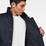 G-Star RAW® Scutar Utility Padded Trench Coat Dark blue creative shot