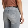 G-Star RAW® Lynn Mid Waist Skinny Jeans Grey